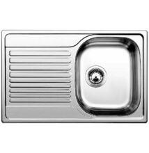 BLANCO TIPO 45 S Compact rozsdamentes acél mosogatótálca, szövetmintás (513675)