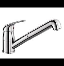 BLANCO DARAS-S króm, kihúzható zuhanyfejes,álló mosogató csaptelep HD (517731)