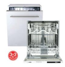Evido Aqualife Beépíthető mosogatógép 45cm (DW45I.1)