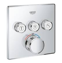 Grohe SmartControl termosztátos színkészlet (három kifolyós zuhanyrendszerhez) 29126000