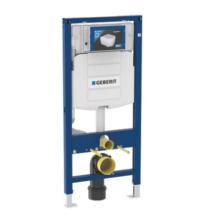 GEBERIT Duofix fali wc szerelőelem 112 cm, Sigma 12-es öblítőtartállyal, nyomólap nélkül (111.300.00.5)