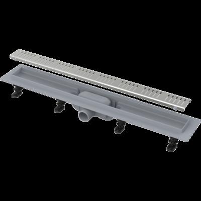 Alcaplast APZ10/Simple műanyag zuhanyfolyóka fém ráccsal (950 mm)