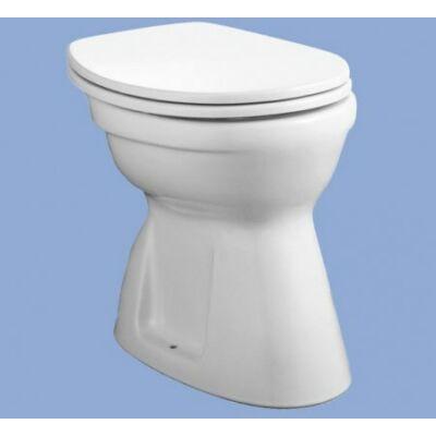 Alföldi Bázis laposöblítésű WC, alsó kifolyású (4037 00 01)