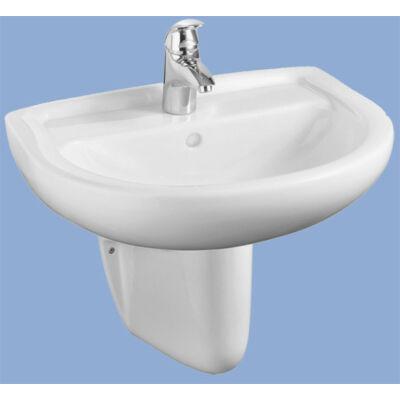 Alföldi Bázis mosdó, csapfurat nélküli 55 x 45 cm (4191 56 01)