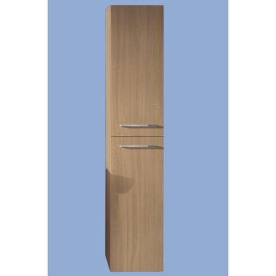 Alföldi Formo falra szerelhető magasszekrények, két ajtóval, négy üveg polccal (35 x 177 x 38)