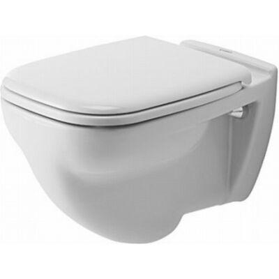 Duravit D-Code síköblítésű fali WC fehér színben 221009