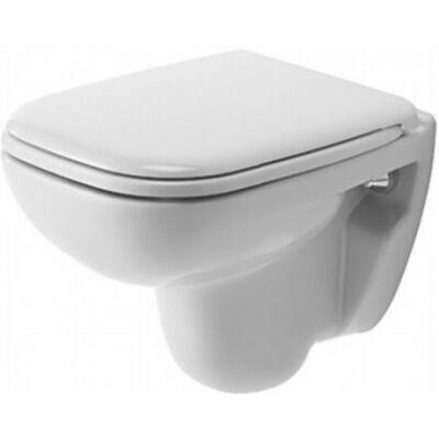 Duravit D-Code mélyöblítésű compact fali WC fehér színben 221109