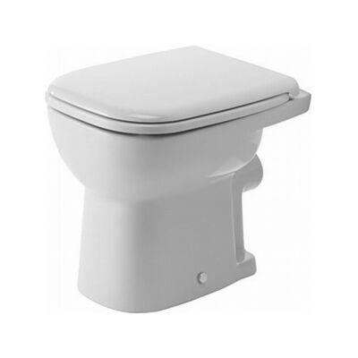 Duravit D-Code síköblítésű WC (hátsó kifolyású) 210909