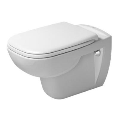 Duravit D-Code mélyöblítésű, perem nélküli fali WC 257009