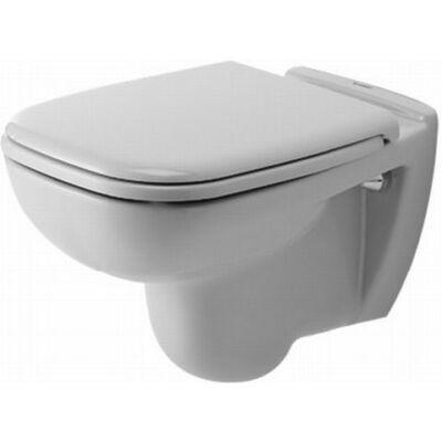 Duravit D-Code mélyöblítésű fali WC (fehér) 253509