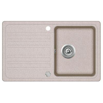 EVIDO HOME 45S - Gránit mosogatótálcák - 3 féle színben (bézs, homok, antracit) - 45 cm-es szekrényméret