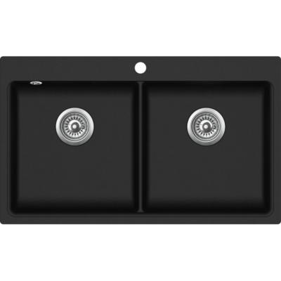 EVIDO QUADRO 9 - Gránit mosogatótálcák - 3 féle színben (bézs, homok, antracit) - 90 cm-es szekrényméret