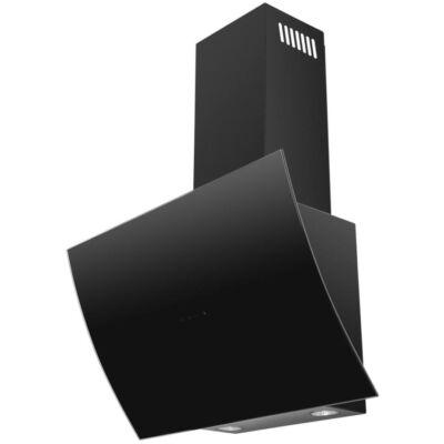 EVIDO CLIFF döntött ernyős fali kürtős DESING páraelszívók - fekete vagy fehér üveggel