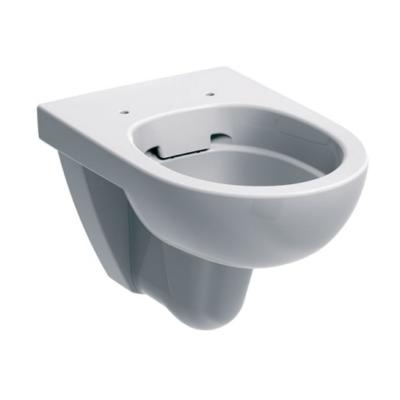 Geberit Selnova Pro ovális fali WC, mélyöblítésű, Rimfree (öblítőperem nélkül) - 500.265.01.1 (KOLO M33120)