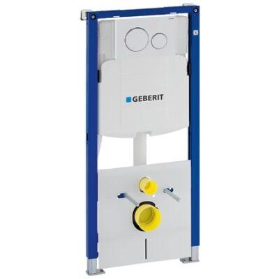 Geberit Duofix fali wc szerelőelem, 112 cm - Sigma 12-es öblítőtartály, Sigma 20 működtetőlap (111.301.KJ.5)