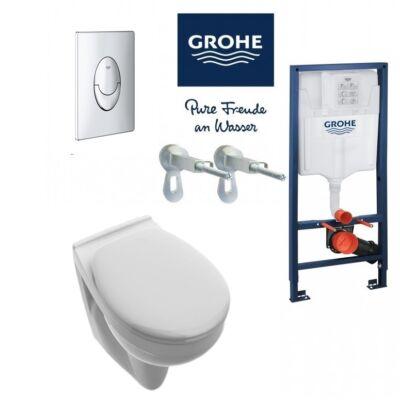 Grohe 5in1 szett Alföldi Saval 2.0 mélyöblítésű fali wc-vel (7056 59 01)