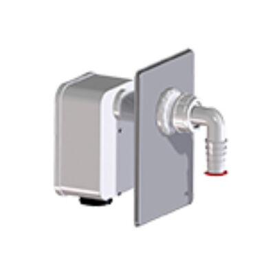 HL4000.1 szifonkazetta készlet a HL4000.0 lefolyó házba 1 mosógép csatlakoztatására HL4000.1