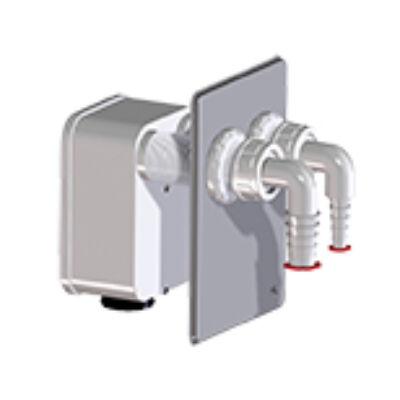 HL4000.2 szifonkazetta készlet a HL4000.0 lefolyó házba 2 mosógép csatlakoztatására HL4000.2