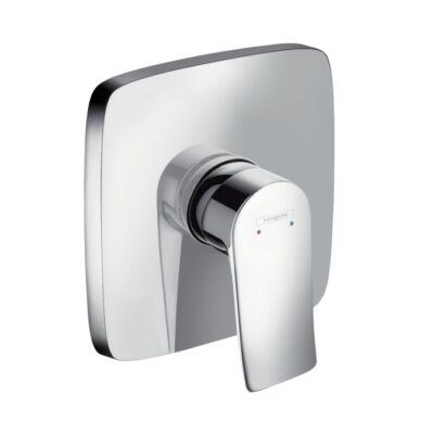 HANSGROHE Metris egykaros, falsík alatti zuhanycsaptelep színkészlet (31456000)