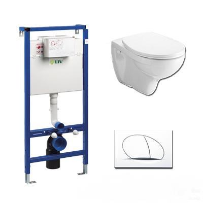 LIV JOG lábon álló WC szett (komplett)