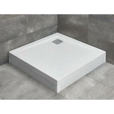 Radaway Argos C négyzet alapú zuhanytálcák (lábbal és R399 króm szifonnal)