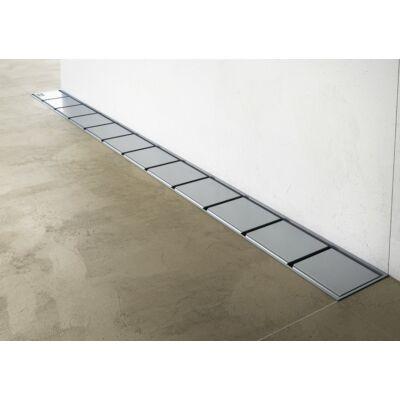 Ravak OZW 10° rozsdamentes acél zuhanyfolyókák (fali)