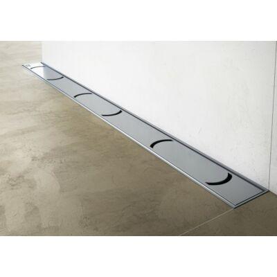 Ravak OZW Chrome rozsdamentes acél zuhanyfolyókák (fali)