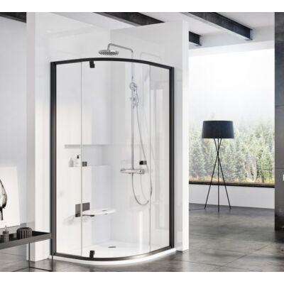 Ravak Pivot PSKK3 háromrészes, negyedköríves, kifelé nyíló zuhanykabinok