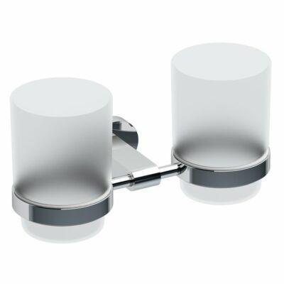 Ravak Chrome Dupla pohártartó (üveg) CR 220.00 (X07P189)