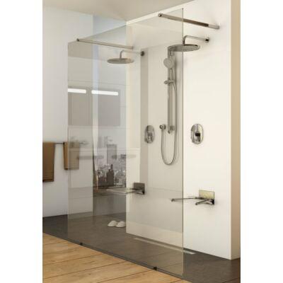 Ravak Walk-In Free zuhanykabinok - egy fix oldalfal két bejárattal