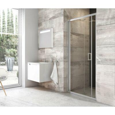 Ravak BLDZ2 zuhanyajtók transparent edzett biztonsági üveggel, krómhatású kerettel