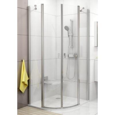 Ravak Chrome CSKK4 négyrészes, negyedköríves, kifelé és befelé nyíló zuhanykabinok