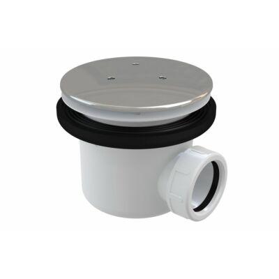 RAVAK Professional 90 zuhanytálca szifon krómozott fém fedéllel (X01309)