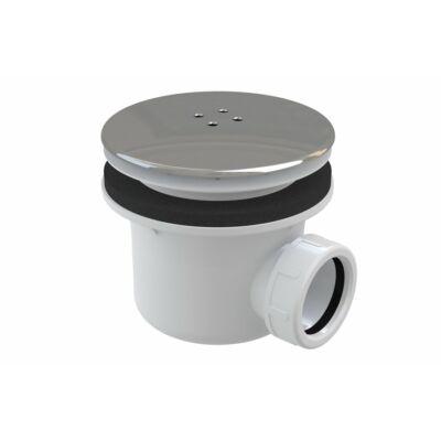 RAVAK Standard 90 zuhanytálca szifon krómozott műanyag fedéllel (X01314)