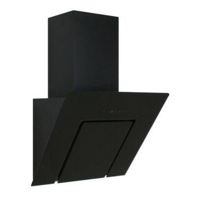 SILVERLINE U-LINED 3423 döntött ernyős páraelszívó, fekete, 90 cm (3423.9.652.01)