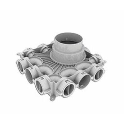 Vaillant alacsony építésű légoldali osztó/gyűjtő kerek - átm. 75/62 mm (0020231945)