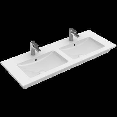 Villeroy & Boch Venticello 130x50 cm beépíthető dupla mosdó 4111DL01