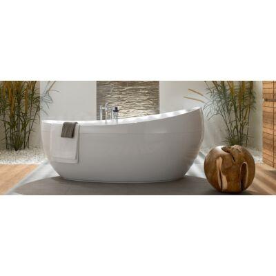 Villeroy & Boch Aveo szabadon álló fürdőkád, Quaryl panellel, krómozott le- és túlfolyóval 190x95 cm UBQ194AVE9PDV-01